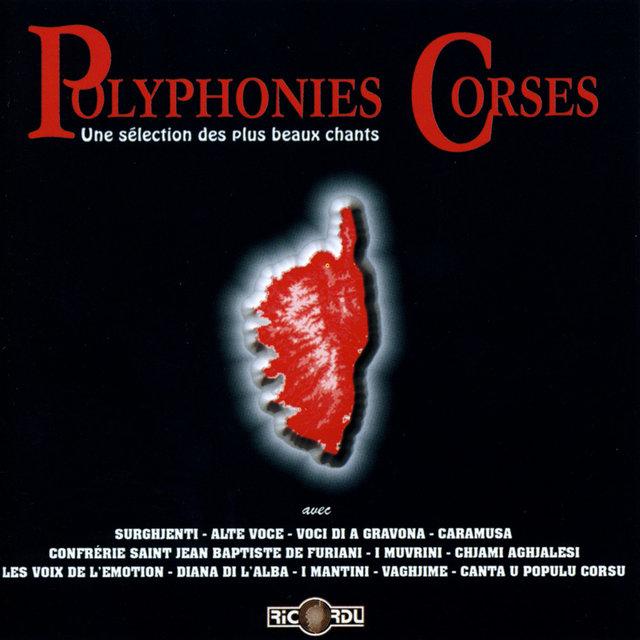 Polyphonies corses: Une sélection des plus beaux chants