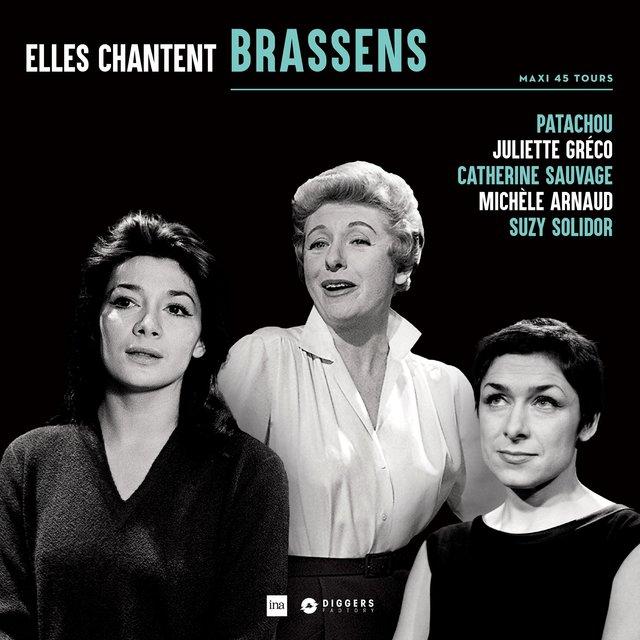 Couverture de Elles Chantent Brassens