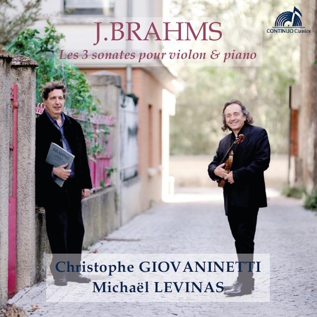 Brahms - Les 3 sonates pour violon & piano