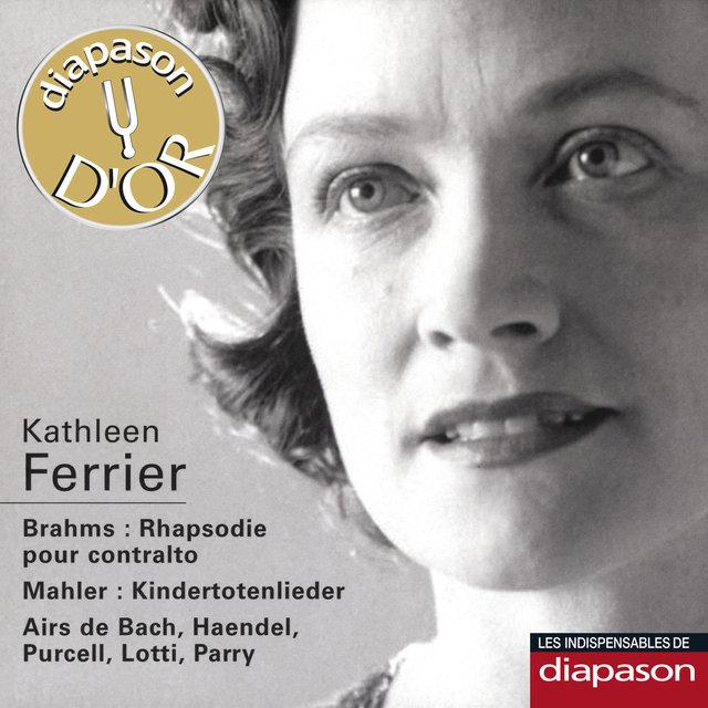 Brahms: Rhapsodie pour contralto - Mahler: Kindertotenlieder & Airs de Bach, Haendel, Purcell, Lotti & Parry(Les indispensables de Diapason)