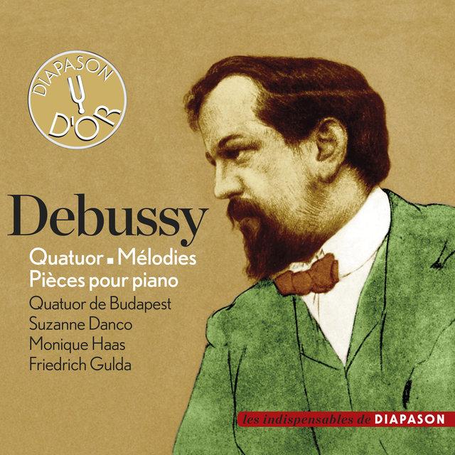 Debussy: Quatuor, Mélodies & Pièces pour piano(Les indispensables de Diapason)