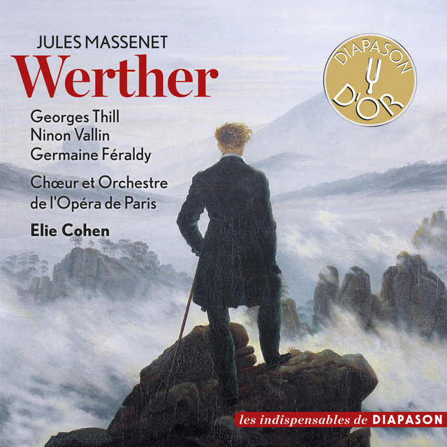 Couverture de Massenet: Werther(Les indispensables de Diapason)