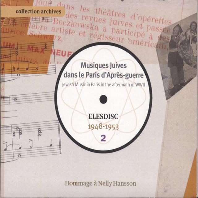 Musiques juives dans le Paris d'après-guerre, Vol. 2