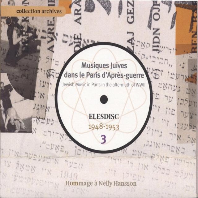 Musiques juives dans le Paris d'après-guerre, Vol. 3