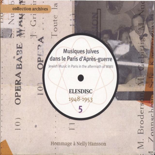Musiques juives dans le Paris d'après-guerre, Vol. 5
