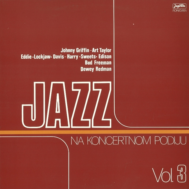 Jazz Na Koncertnom Podiju, Vol. 3