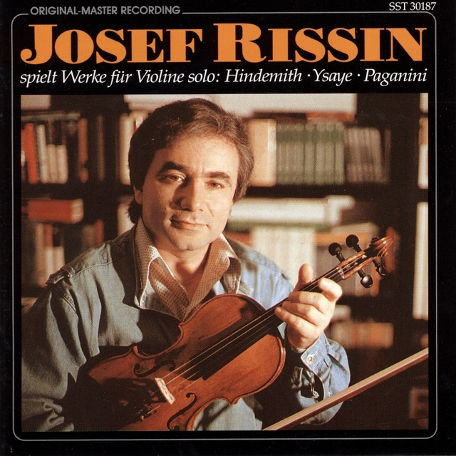 Hindemith, Ysaÿe & Paganini: Works for Solo Violin