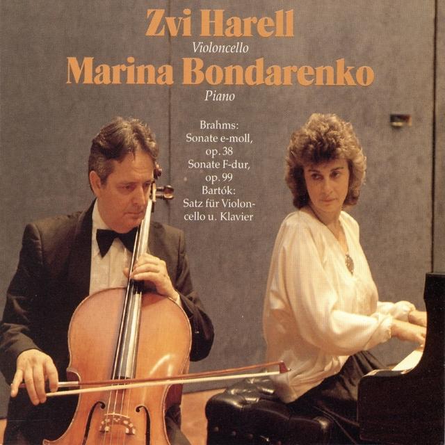 Brahms & Bartók: Cello Sonatas