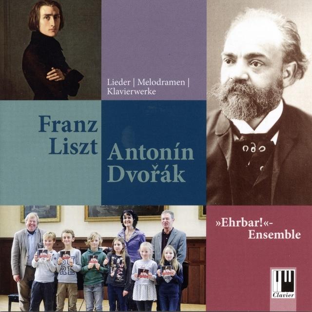 Liszt & Dvořák: Lieder, Melodramen und Klavierwerke