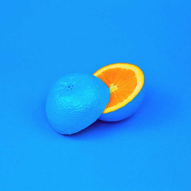 Blue as an Orange