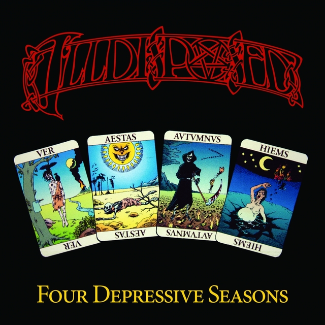 Couverture de Four Depressive Seasons