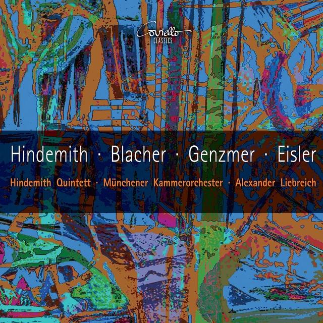 Works by Hindemith, Blacher, Genzmer, Eisler