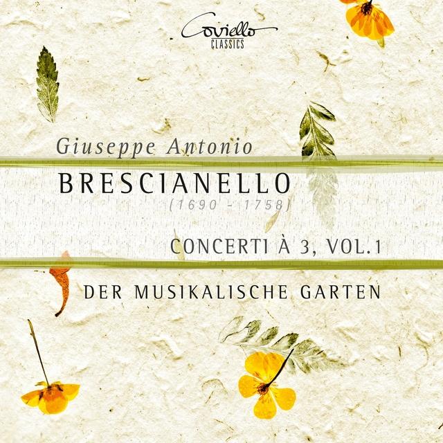 Brescianello: Concerti à 3, Vol. 1