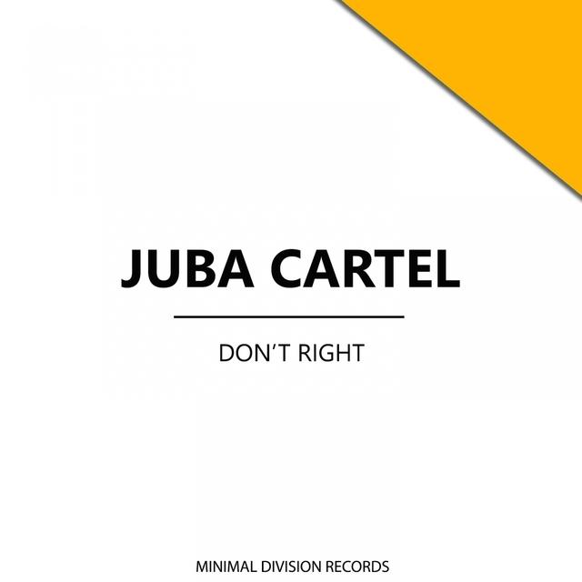 Couverture de Don't Right