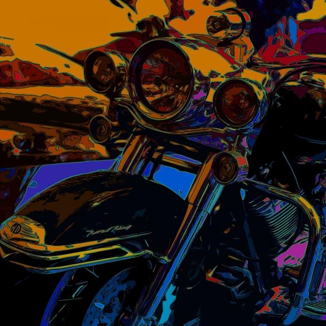 Couverture de The Devil Bike
