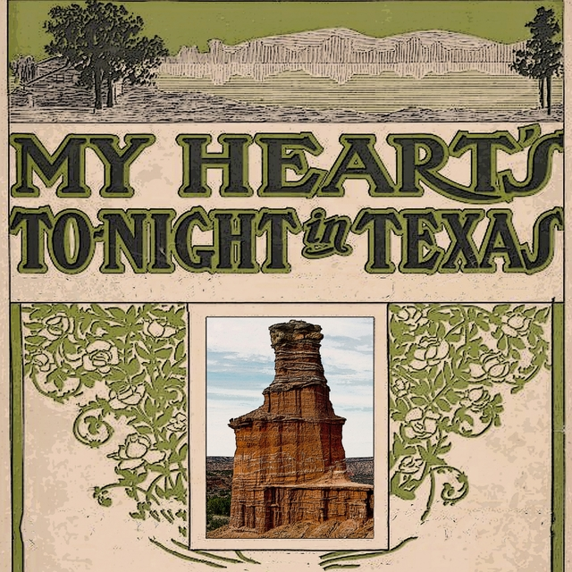 Couverture de My Heart's to Night in Texas