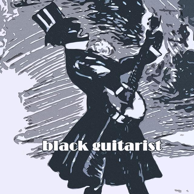 Couverture de Black Guitarist