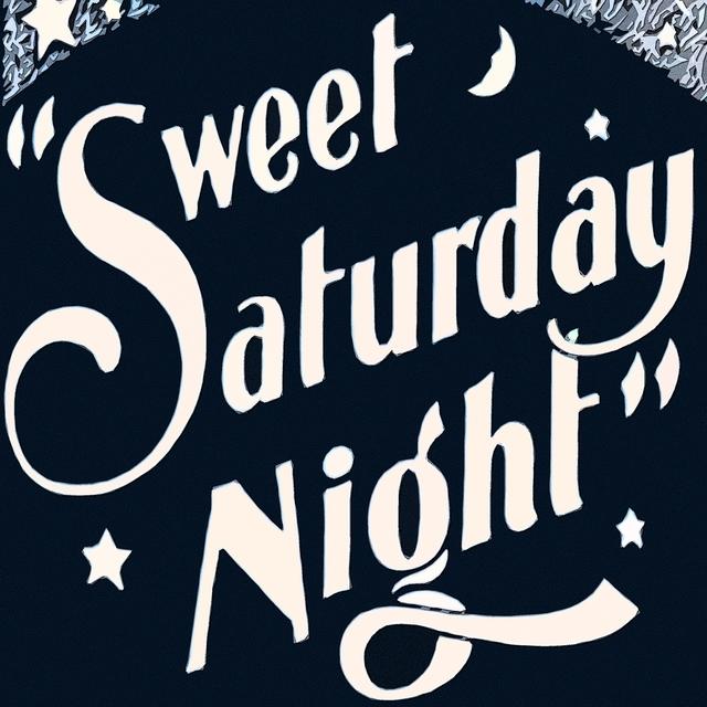 Couverture de Sweet Saturday Night