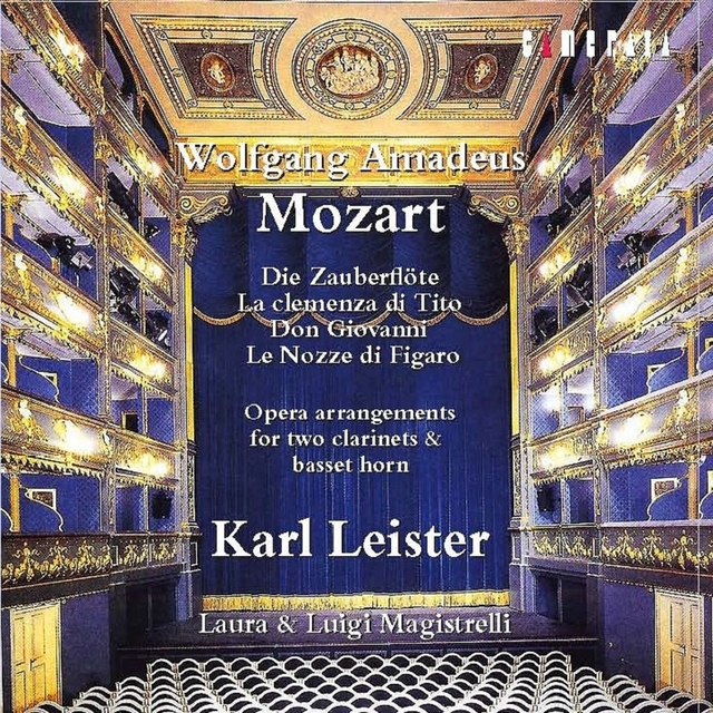 Mozart: Opera Arrangements for Two Clarinets and Basset Horn