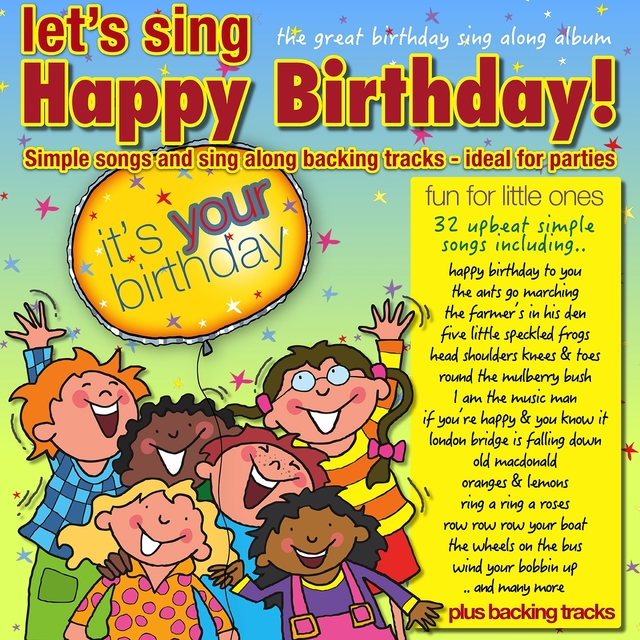 Let's Sing Happy Birthday
