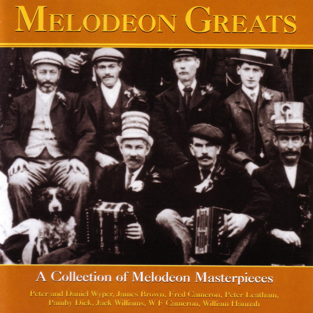 Couverture de Melodeon Greats