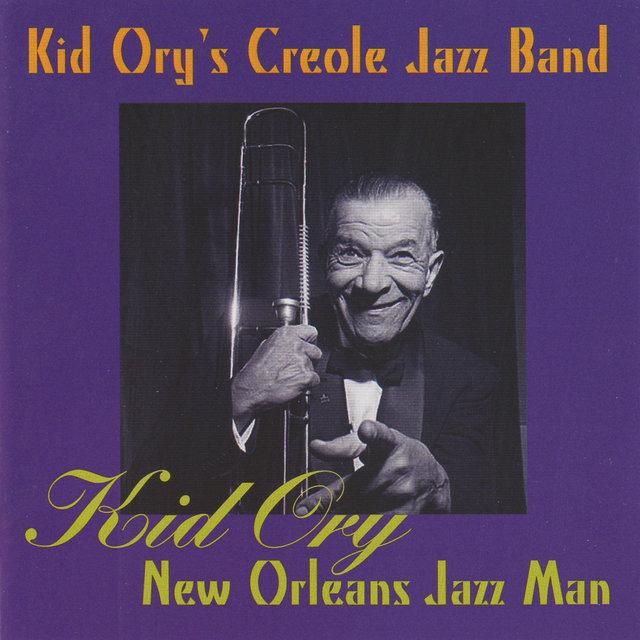 Couverture de Kid Ory New Orleans Jazz Man