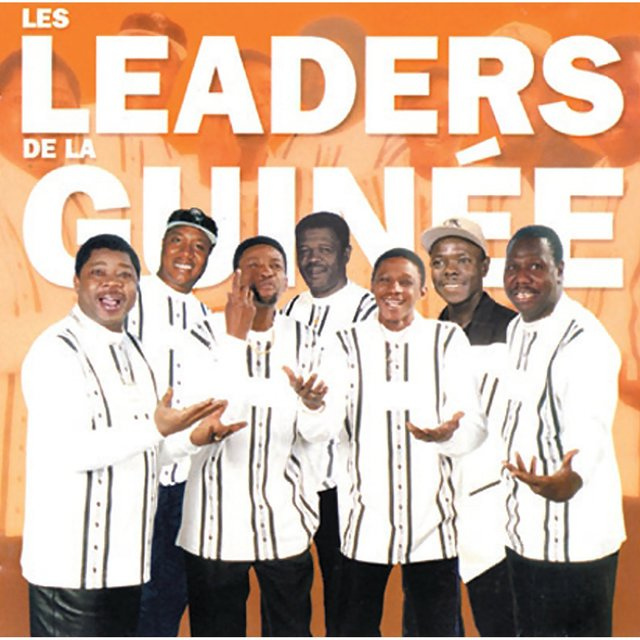 Couverture de Les leaders de la Guinée