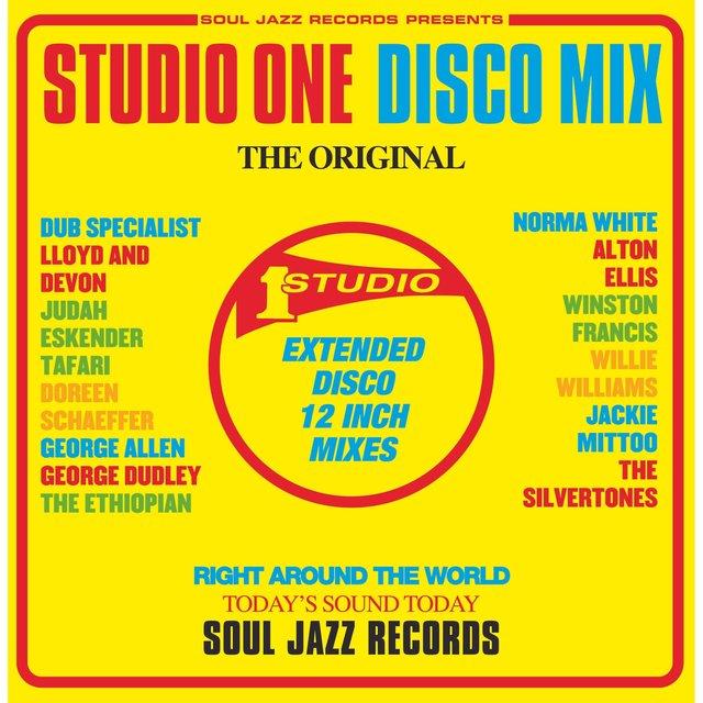 Couverture de Soul Jazz Records Presents STUDIO ONE Disco Mix