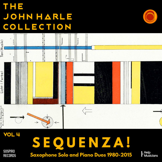 Couverture de The John Harle Collection Vol. 4: Sequenza! (Saxophone Solo and Piano Duos 1980-2015)