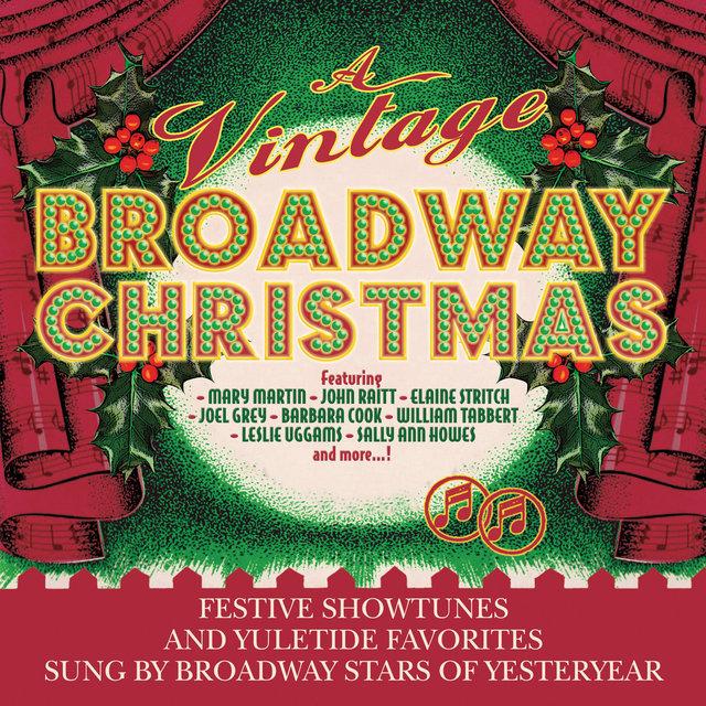 Couverture de A Vintage Broadway Christmas