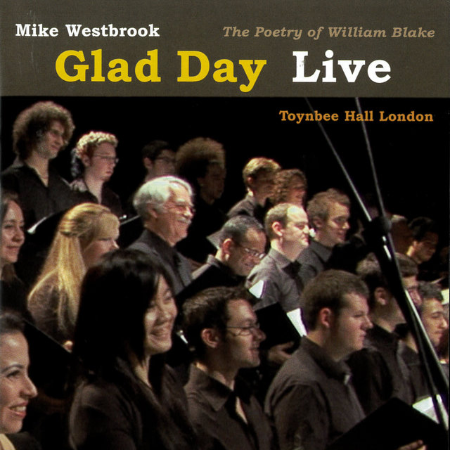 Couverture de Glad Day: The Poetry of William Blake