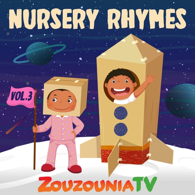 Couverture de Nursery Rhymes by Zouzounia Tv, Vol. 3
