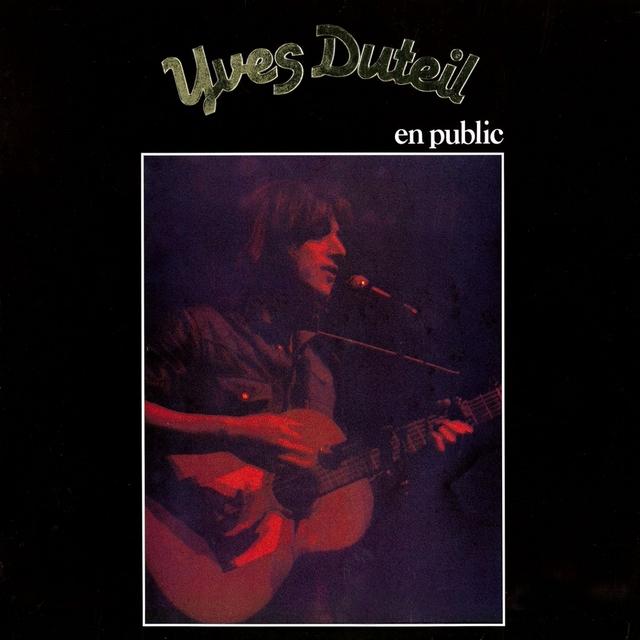 Yves Duteil en public