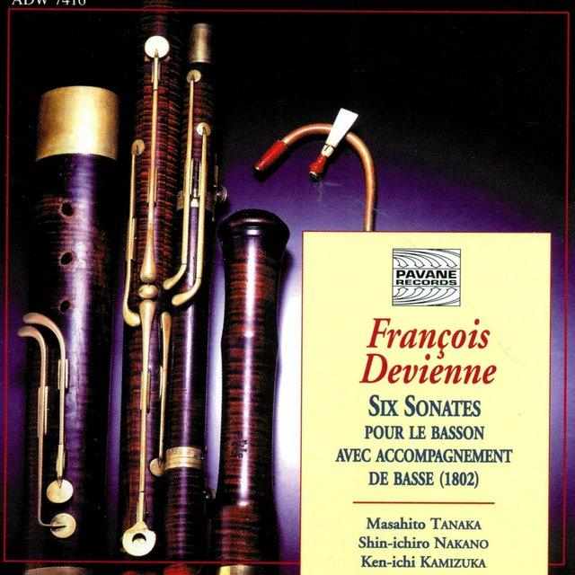 Devienne: Six sonates pour le basson avec accompagnement de basse