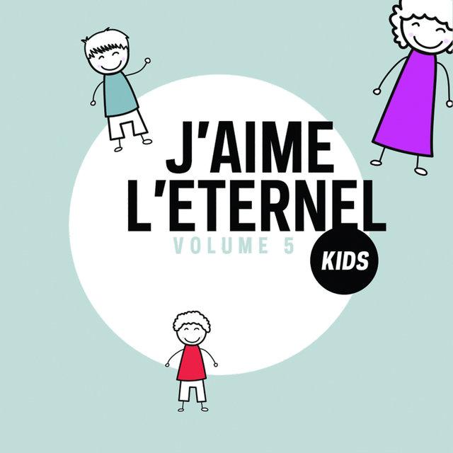 Couverture de J'aime l'Eternel - Kids, Vol. 5