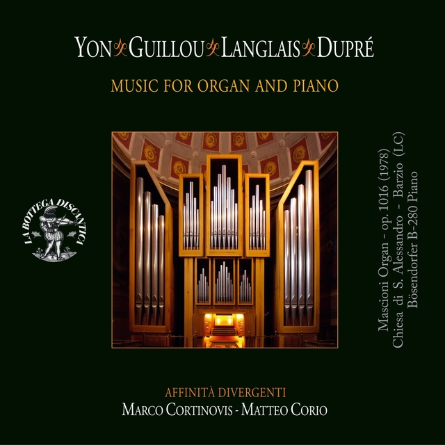 Yon, Guillou, Langlais, Duprè: Music for Organ and Piano