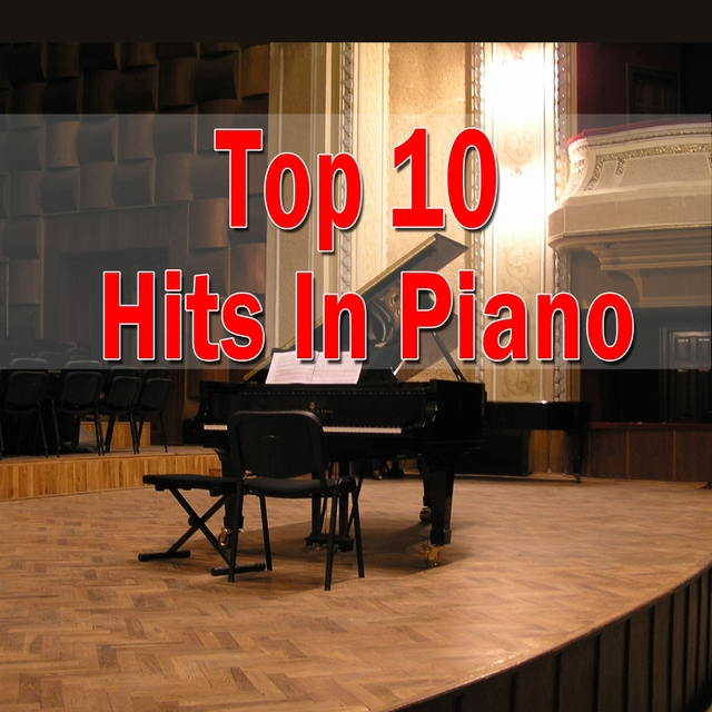 Top 10 Hits in Piano