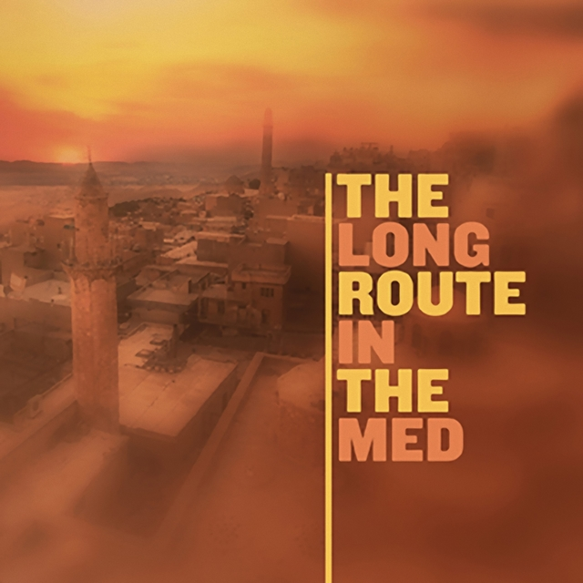 Couverture de The long route in the med