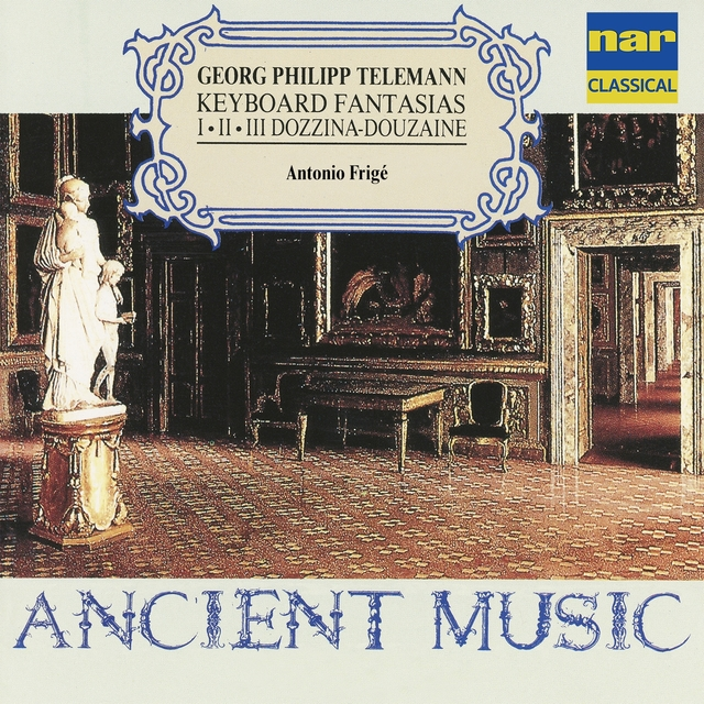 Georg Philipp Telemann: Keyboard Fantasias