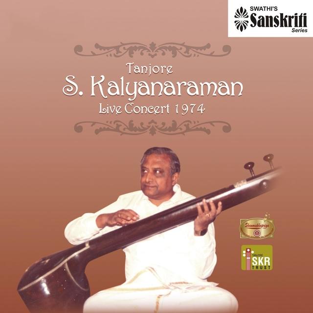 Tanjore S. Kalyanaraman: Live Concert, 1974