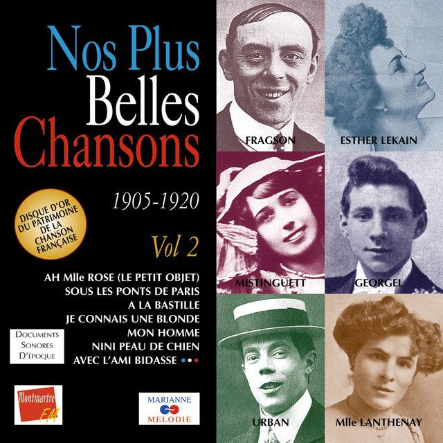 Nos plus belles chansons, Vol. 2: 1905-1920