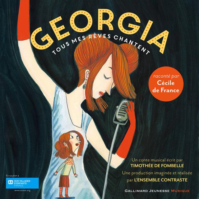 Couverture de Georgia, tous mes rêves chantent