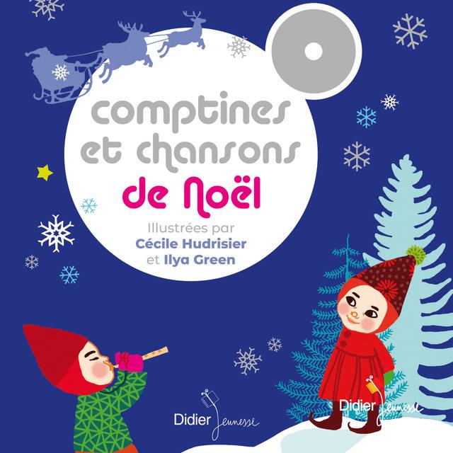 Couverture de Comptines et chansons de Noël