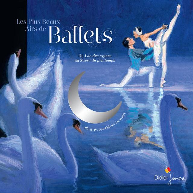 Couverture de Les plus beaux airs de ballet
