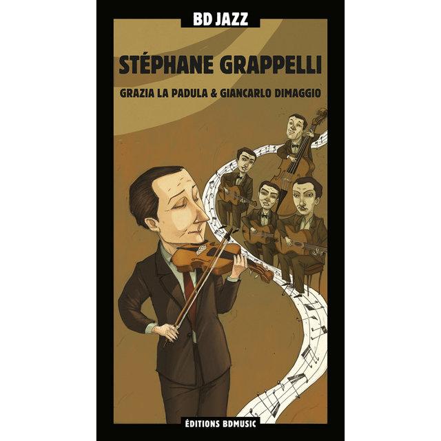 Couverture de BD Music Presents Stéphane Grappelli