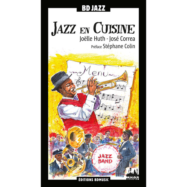Couverture de BD Music Presents: Jazz en cuisine