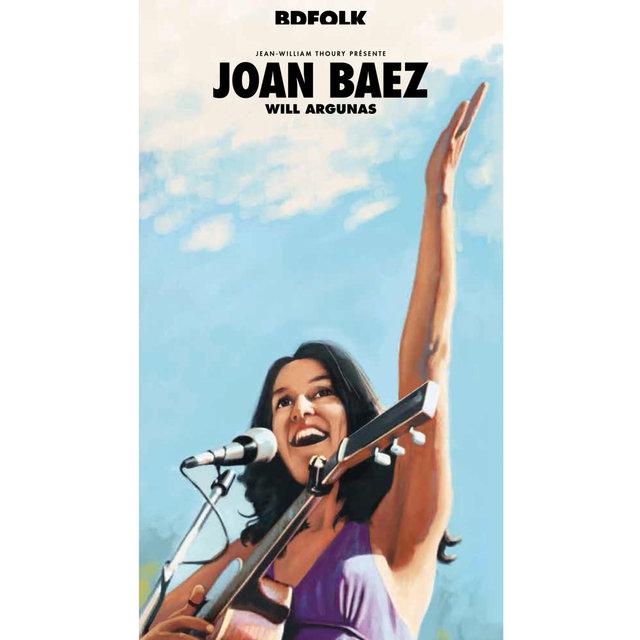 Couverture de BD Music Presents Joan Baez