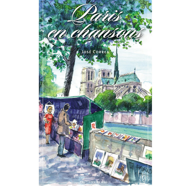 Couverture de BD Music Presents Paris en chansons