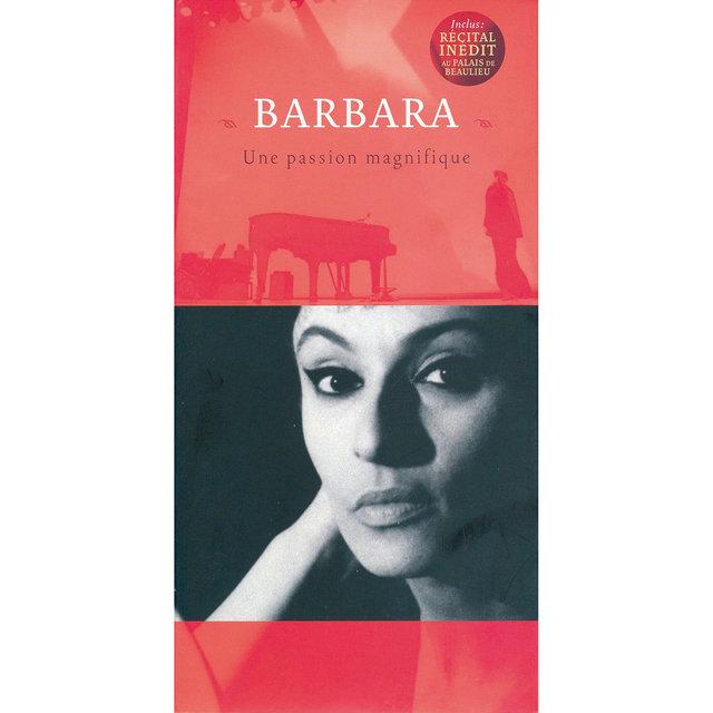 Couverture de BD Music Presents Barbara, une passion magnifique