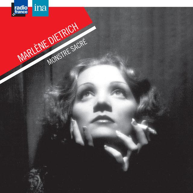 Couverture de Marlène Dietrich, monstre sacré